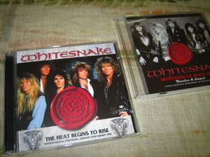 WHITESNAKE - THE HEAT BEGINS TO RISE (2CD + bonus 2CD , BRAND NEW)