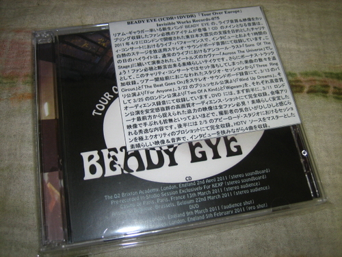 BEADY EYE - TOUR OVER EUROPE (CD+DVD) - rzrecord