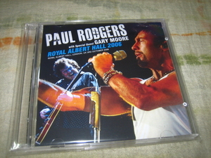 PAUL RODGERS with GARY MOORE - ROYAL ALBERT HALL 2006 (2CD)