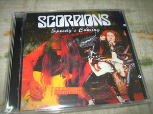 SCORPIONS - SPEEDY'S COMING : FIRST NIGHT IN JAPAN (2CD , BRAND NEW)