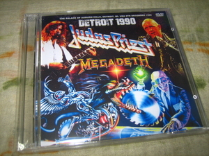 JUDAS PRIEST / MEGADETH - DETROIT 1990 (2DVD)