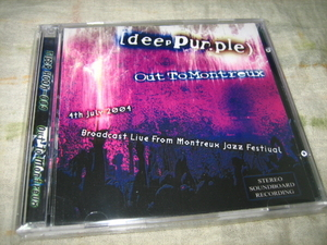 DEEP PURPLE - OUT TO MONTREUX (2CD)