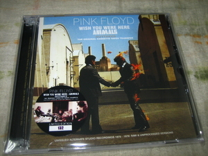 PINK FLOYD - WISH YOU WERE HERE / ANIMALS OUTTAKES : THE ORIGINAL CASSETTE TAPES TRANSFER (2CD , BRAND NEW)