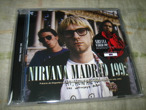 NIRVANA - MADRID 1992 (1CD , BRAND NEW)