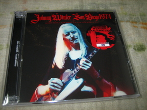 JOHNNY WINTER - SAN DIEGO 1974 (2CD , BRAND NEW)