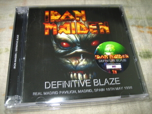 IRON MAIDEN - DEFINITIVE BLAZE (2CD + bonus DVD , BRAND NEW)