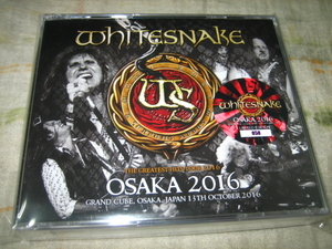 WHITESNAKE - OSAKA 2016 (4CD , BRAND NEW)