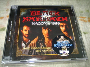 BLACK SABBATH - NAGOYA 1989 (2CD + bonus DVD , BRAND NEW)