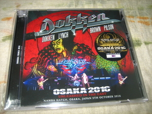 DOKKEN - OSAKA 2016 : UNLEASHED IN THE EAST (2CD , BRAND NEW)