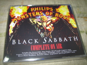BLACK SABBATH - MONSTERS OF ROCK : COMPLETE ON AIR (3DVD , BRAND NEW)