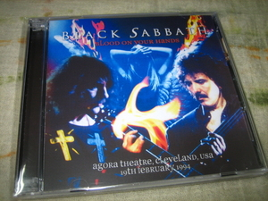 BLACK SABBATH - BLOOD ON YOUR HANDS (2CD , BRAND NEW)