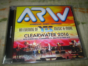ARW / ANDERSON RABIN WAKEMAN - CLEARWATER 2016 (2CD , BRAND NEW)