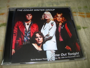 EDGAR WINTER GROUP - COME OUT TONIGHT (1CD , BRAND NEW)