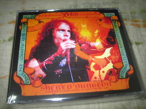 DIO - SACRED DUNGEON (4CD , BRAND NEW)