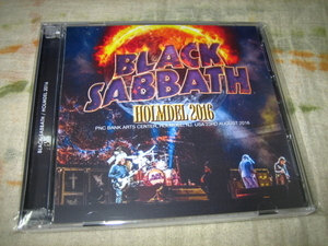 BLACK SABBATH - HOLMDEL 2016 (2CD , BRAND NEW)