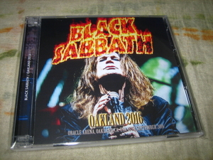 BLACK SABBATH - OAKLAND 2016 (2CD , BRAND NEW)