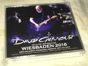 DAVID GILMOUR - WIESBADEN 2016 (3CD , BRAND NEW) *PRE-ORDER*