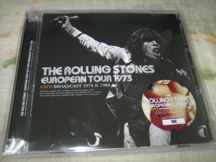 THE ROLLING STONES - EUROPEAN TOUR 1973 : KBFH BROADCAST